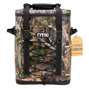30 Can Camo Insulated Backpack